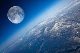 moon from everest