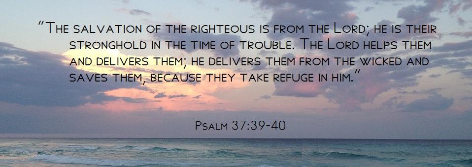 Psal 37.39-40